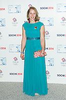 Lizzy Yarnold, British Olympic Ball, Dorchester (Opal Room), London UK, 30 October 2013, Photo by Raimondas Kazenas