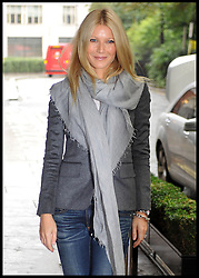 Gwyneth Paltrow arrives for Stand Up to Cancer at the Lancaster Ballroom, Savoy Hotel, Monday September 24, 2012 Photo Andrew Parsons / i-Images..