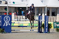 VAN HEEL Arne (NED), Donald<br /> Hagen - Horses and Dreams meets the Royal Kingdom of Jordan 2018<br /> Youngster Tour für 7+8j Pferde<br /> 27. April 2018<br /> www.sportfotos-lafrentz.de/Stefan Lafrentz