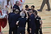 DESCRIZIONE : Milano NBA Global Games EA7 Olimpia Milano - Boston Celtics<br /> GIOCATORE : Team<br /> CATEGORIA : Squadra<br /> SQUADRA :  Olimpia EA7 Emporio Armani Milano<br /> EVENTO : NBA Global Games 2016 <br /> GARA : NBA Global Games EA7 Olimpia Milano - Boston Celtics<br /> DATA : 06/10/2015 <br /> SPORT : Pallacanestro <br /> AUTORE : Agenzia Ciamillo-Castoria/IvanMancini<br /> Galleria : NBA Global Games 2016 Fotonotizia : NBA Global Games EA7 Olimpia Milano - Boston Celtics