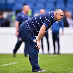 Conor O'Shea during the Guinness Six Nations match between Italy and France on March 16, 2019 in Rome, Italy Photo : Alfredo Falcone / LaPresse / Icon Sport