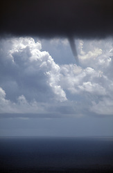 INDIAN OCEAN 1APR13 - A forming tornado during bad weather in the Indian Ocean.<br /> <br /> jre/Photo by Jiri Rezac / Greenpeace