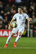 Karen Carney of England Women during the International Friendly match at stadium:mk, Milton Keynes<br /> Picture by David Horn/Focus Images Ltd +44 7545 970036<br /> 13/02/2015