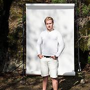 Markus Korpela, kuvattu Näsinpuistossa Tampereella.
