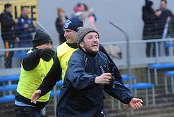 Westport's Liam Staunton celebrates at full time in the All Ireland Club semi-final in Ennis.<br /> Pic Conor McKeown