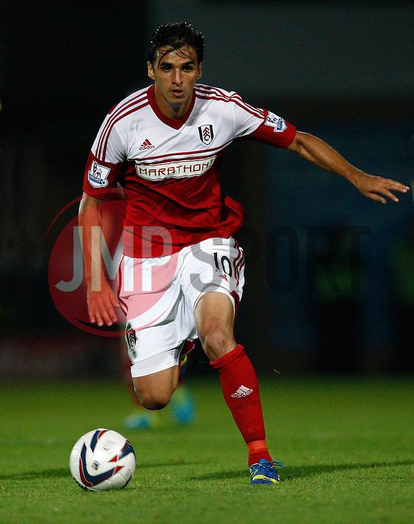 Fulham's Bryan Ruiz - Photo mandatory by-line: Matt Bunn/JMP - Tel: Mobile: 07966 386802 27/08/2013 - SPORT - FOOTBALL - Pirelli Stadium - Burton - Burton Albion V Fulham -  Capital One Cup - Round 2