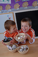 Picture By Jim Wileman  16/08/2007  Maths Series pictures at Oaktree Nursery, Ilfracombe, North Devon.