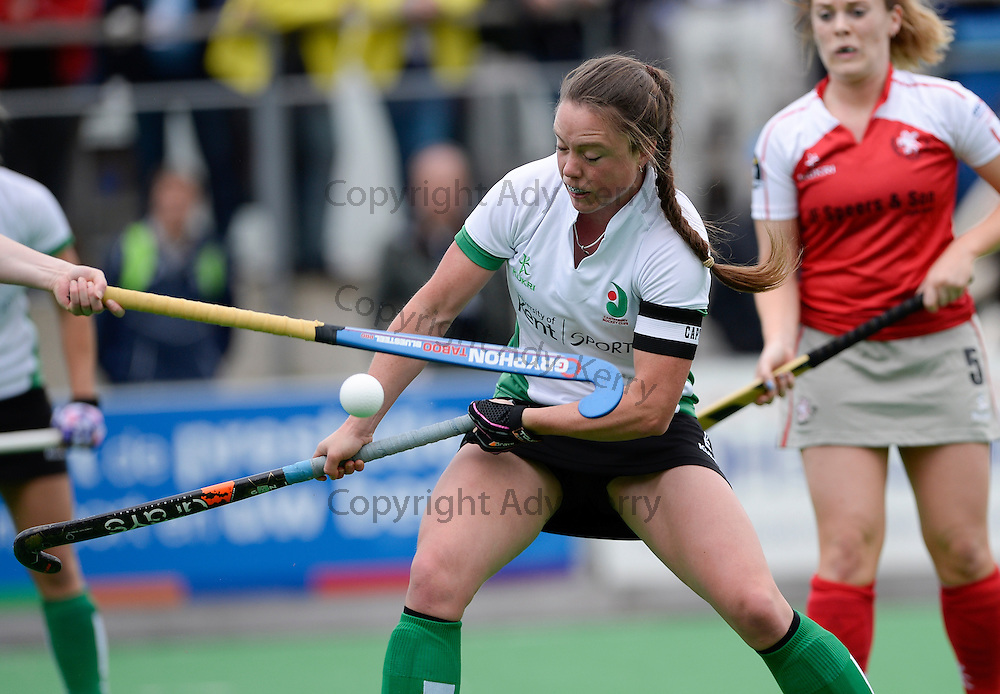 Canterbury vs Pegasus at SCHC, Bilthoven, Utrecht, Netherlands,15th May 2016.<br />