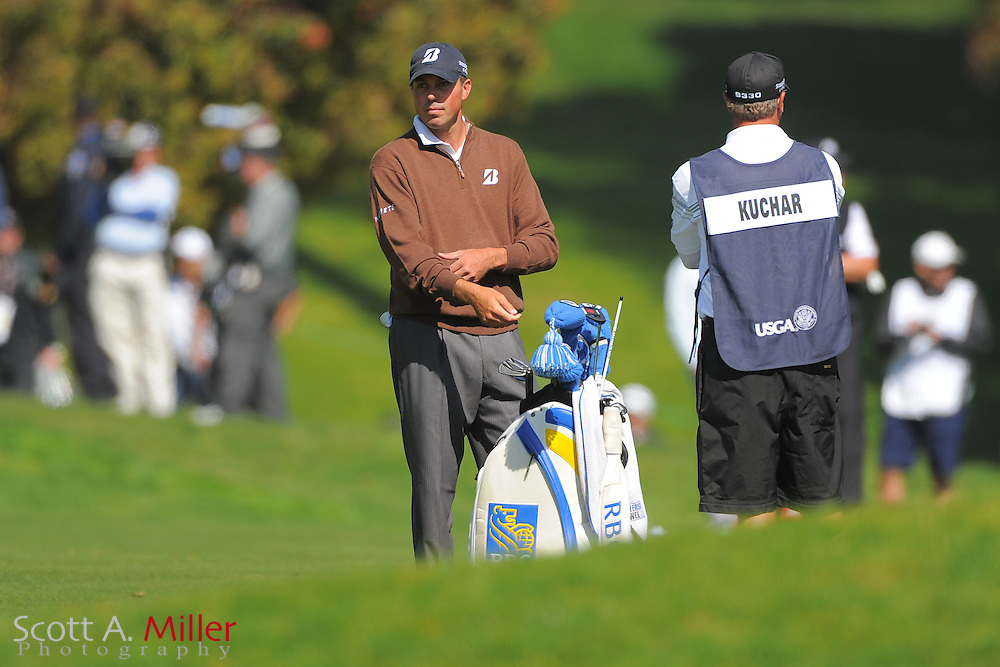 Matt Kuchar during the second round of the 112th U.S. Open at The Olympic Club on June 15, 2012 in San Fransisco. ..©2012 Scott A. Miller