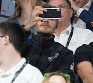Beckhams Watch Basketball Finals At Invictus
