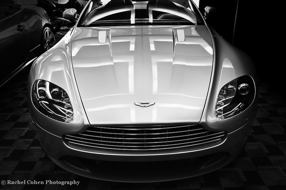 &quot;Aston Martin&quot; - B&amp;W<br />
