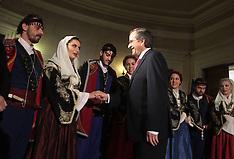 DEC 24 2012 Greek Prime Minister Antonis Samaras