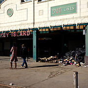 """Entering Coney Island Become a volunteer with """"Occupy Sandy"""" HERE:<br /> <br /> http://interoccupy.net/occupysandy/"""