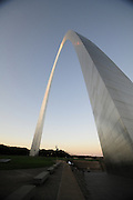 The St. Louis Arch Friday August 17,2012.© Suzi Altman.