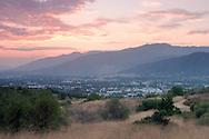 San Gabriel Valley Sunset, Glendora, California