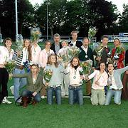 NLD/Bussum/20060530 - Uitreiking Sportprijzen 2005 gemeente Bussum, alle prijswinnaars, groepsfoto