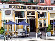 The Paris Cafe, established in 1873, and one of New York City's oldest pub,  located in the historic South Street Seaport District in lower Manhattan