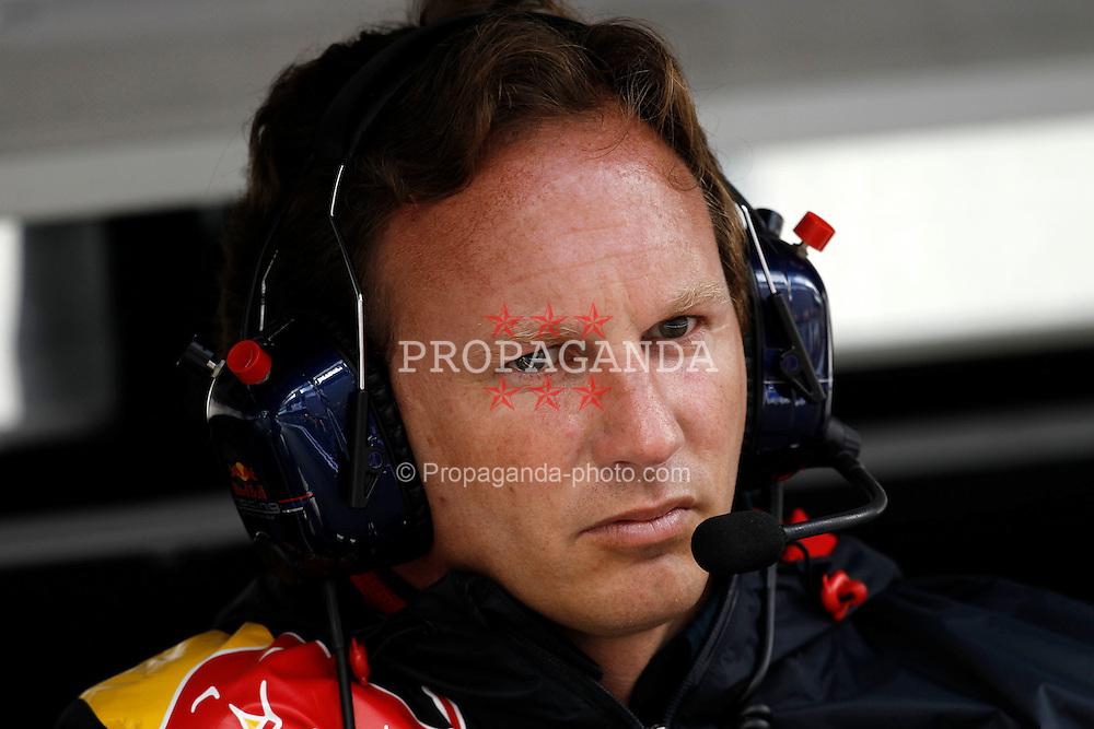 Motorsports / Formula 1: World Championship 2010, GP of Belgium, Christian Horner (GBR, Teamchef Red Bull Racing),