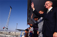 SPECIAL OLYMPICS AFGHANISTAN..Kabul, 23 August 2005..U.S. Ambassador Ronald E. Neumann  during the opening ceremony at Ghazi Stadium