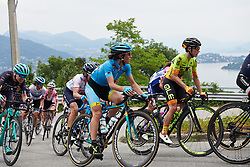 Sofia Bertizzolo (ITA) climbs out of Baveno at Giro Rosa 2018 - Stage 5, a 122.6 km road race starting and finishing in Omegna, Italy on July 10, 2018. Photo by Sean Robinson/velofocus.com
