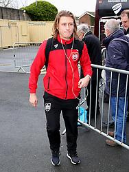 Luke Freeman of Bristol City arrives at Turf Moor  - Mandatory byline: Matt McNulty/JMP - 07966 386802 - 28/12/2015 - FOOTBALL - Turf Moor - Burnely, England - Burnley v Bristol City - Sky Bet Championship