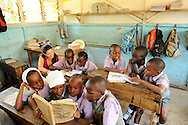 Students  at Likoni Hill Academy, an elementary school in Likoni, Kenya....recipients of scholarship tuition assistance from Hatua Likoni.