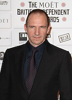 Ralph Fiennes The Moet British Independent Film Awards, Old Billingsgate Market, London, UK, 05 December 2010:  Contact: Ian@Piqtured.com +44(0)791 626 2580 (Picture by Richard Goldschmidt)