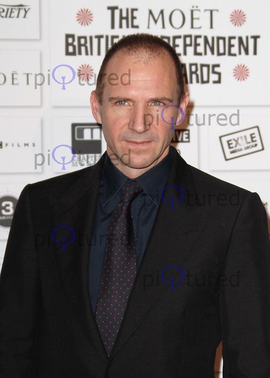 Ralph Fiennes The Moet British Independent Film Awards, Old Billingsgate Market, London, UK, 05 December 2010:  Contact: Ian@Piqtured.com +44(0)791 626 2580 (Picture by Richard Goldschmidt)