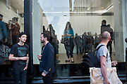 Art Opening private view, Exhibition of polaroids by PHILIP-LORCA DICORCIA at Spruth Magers, Dover st. London. 12 May 2011. <br /> <br />  , -DO NOT ARCHIVE-&copy; Copyright Photograph by Dafydd Jones. 248 Clapham Rd. London SW9 0PZ. Tel 0207 820 0771. www.dafjones.com.