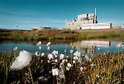 Prudhoe Bay, Alaska, USA, 29082001: Alyeska Pump Station One - the beginning of the Trans Alaska Pipeline that runs from Prudhoe Bay to Valdez. Photo: Orjan F. Ellingvag/ Dagbladet/ Getty