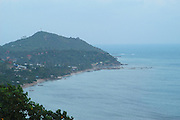 Overlooking the bay of Ko Pangan