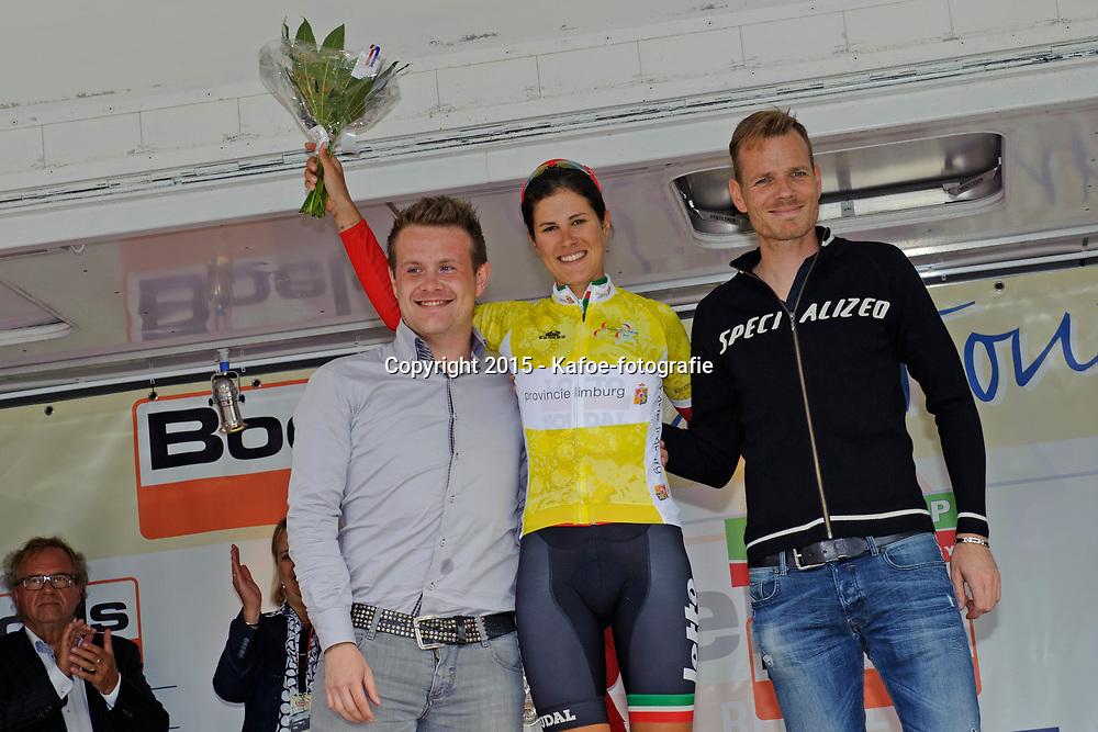 01-09-2015: Wielrennen: Ladiestour: s-Heerenberg<br /> 's-HEERENBERG (NED) wielrennen<br /> De eerste etappe van de Holland Ladies Tour voerde de rensters door de Achterhoek en de Liemers van Zeddam naar 's-Heerenberg.