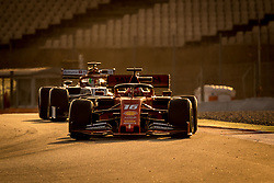 February 19, 2019 - Montmelo, Barcelona, Catalonia, Spain - Barcelona-Catalunya Circuit, Montmelo, Catalonia, Spain - 19/02/2018: Charles Leclerc of Scuderia Ferrari during second journey of F1 Test Days in Montmelo circuit. (Credit Image: © Javier MartíNez De La Puente/SOPA Images via ZUMA Wire)