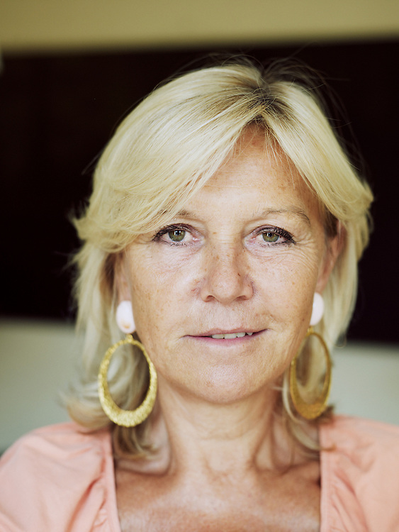 PARIS, FRANCE. SEPTEMBER 4, 2012. Anne Meaux, founder of Image Sept founder and CEO. Photo: Antoine Doyen