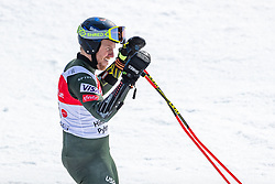 02.03.2020, Hannes Trinkl Weltcupstrecke, Hinterstoder, AUT, FIS Weltcup Ski Alpin, Riesenslalom, Herren, 2. Lauf, im Bild Ted Ligety (USA) // Ted Ligety of the USA reacts after his 2nd run of men's Giant Slalom of FIS ski alpine world cup at the Hannes Trinkl Weltcupstrecke in Hinterstoder, Austria on 2020/03/02. EXPA Pictures © 2020, PhotoCredit: EXPA/ Johann Groder