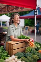 Farmers' Market, Wichita, Kansas, Morning Harvest Farm, Paula Sims, American AgCredit.