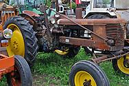 09/07/14 - LA FERTE HAUTERIVE - ALLIER - FRANCE - Collection de machines agricoles et d engins de BTP de Daniel LANTENOIS - Photo Jerome CHABANNE
