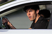 25.DECEMBER.2012. MIAMI<br /> <br /> REAL MADRID AND BRAZIL INTERNATIONAL FOOTBALLER KAKA DRIVING IN MIAMI DURING THE CHRISTMAS HOLIDAYS. <br /> <br /> BYLINE: EDBIMAGEARCHIVE.CO.UK<br /> <br /> *THIS IMAGE IS STRICTLY FOR UK NEWSPAPERS AND MAGAZINES ONLY*<br /> *FOR WORLD WIDE SALES AND WEB USE PLEASE CONTACT EDBIMAGEARCHIVE - 0208 954 5968*