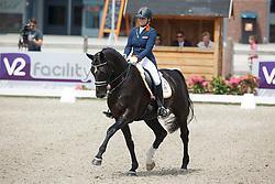 Meulendijks Lotte, (NED), Mdh Ohio<br /> Equine MERC Young Riders Team Test<br /> Dutch Championship Dressage - Ermelo 2015<br /> © Hippo Foto - Dirk Caremans<br /> 17/07/15