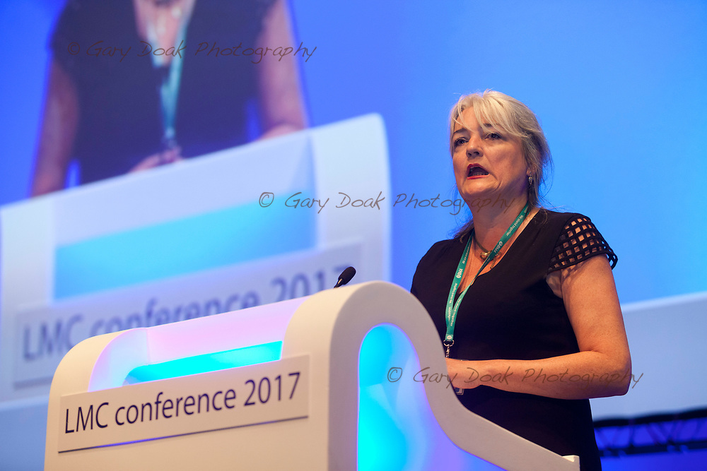 Helena McKeown<br /> BMA LMC's Conference<br /> EICC, Edinburgh<br /> <br /> 18th May 2017<br /> <br /> Picture by Gary Doak