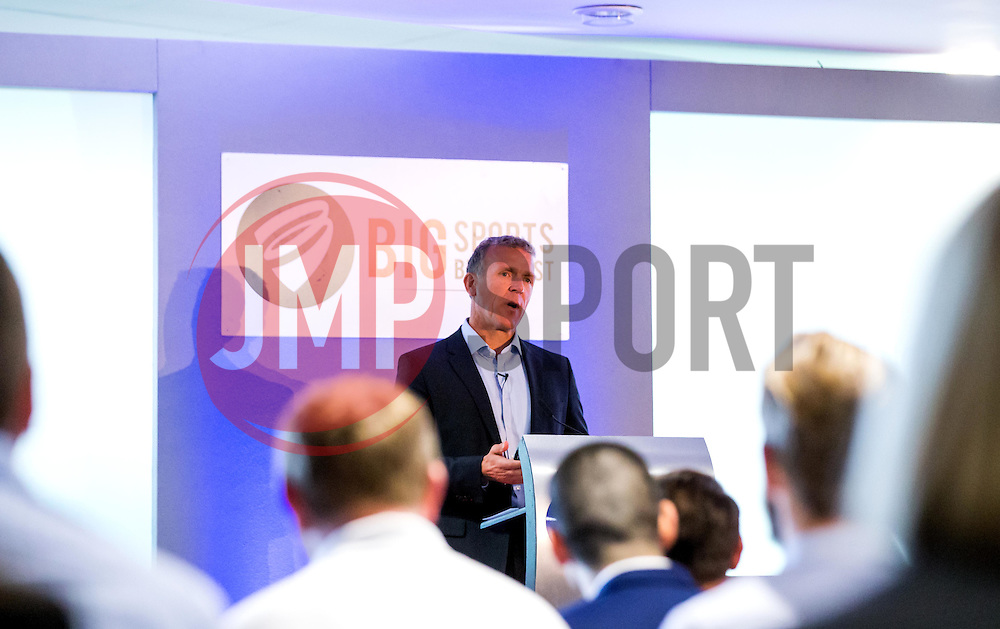 Alec Stewart gives a talk at the Big Breakfast- Mandatory by-line: Robbie Stephenson/JMP - 27/05/2016 - PR - Ashton Gate - Bristol, England - Bristol Sport Big Breakfast Alec Stewart