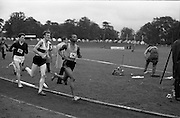 17/07/1967<br /> 07/17/1967<br /> 17 July 1967<br /> International Athletics at Santry Stadium, Dublin. Following closely behind the leaders in the Men's Three Miles International were, J. Metsine, (96) South Africa; J. Mcnamara, (88) Ireland and S. Sztuk (109) Poland, who finished third in the race that was won by Australia's Ron Clarke.