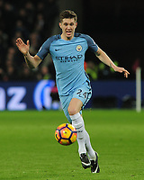 Football - 2016 / 2017 Premier League - West Ham United vs. Manchester City<br /> <br /> John Stones of Man City at The London Stadium.<br /> <br /> COLORSPORT/ANDREW COWIE