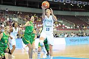 DESCRIZIONE : Riga Latvia Lettonia Eurobasket Women 2009 Qualifying Round Italia Lituania Italy Lithuania<br /> GIOCATORE : Laura Macchi<br /> SQUADRA : Italia Italy<br /> EVENTO : Eurobasket Women 2009 Campionati Europei Donne 2009 <br /> GARA : Italia Lituania Italy Lithuania<br /> DATA : 16/06/2009 <br /> CATEGORIA : super tiro<br /> SPORT : Pallacanestro <br /> AUTORE : Agenzia Ciamillo-Castoria/M.Marchi
