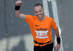 03-11-2013 ALGEMEEN: BVDGF NY MARATHON: NEW YORK <br /> De NY marathon werd weer een groot succes voor de BvdGf. Alle lopers hebben met prachtige tijden de finish gehaald. / Laurens<br /> ©2013-WWW.FOTOHOOGENDOORN.NL