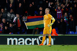 after Crystal Palace win the match 2-1 - Photo mandatory by-line: Rogan Thomson/JMP - 07966 386802 - 06/04/2015 - SPORT - FOOTBALL - London, England - Selhurst Park - Crystal Palace v Manchester City - Barclays Premier League.