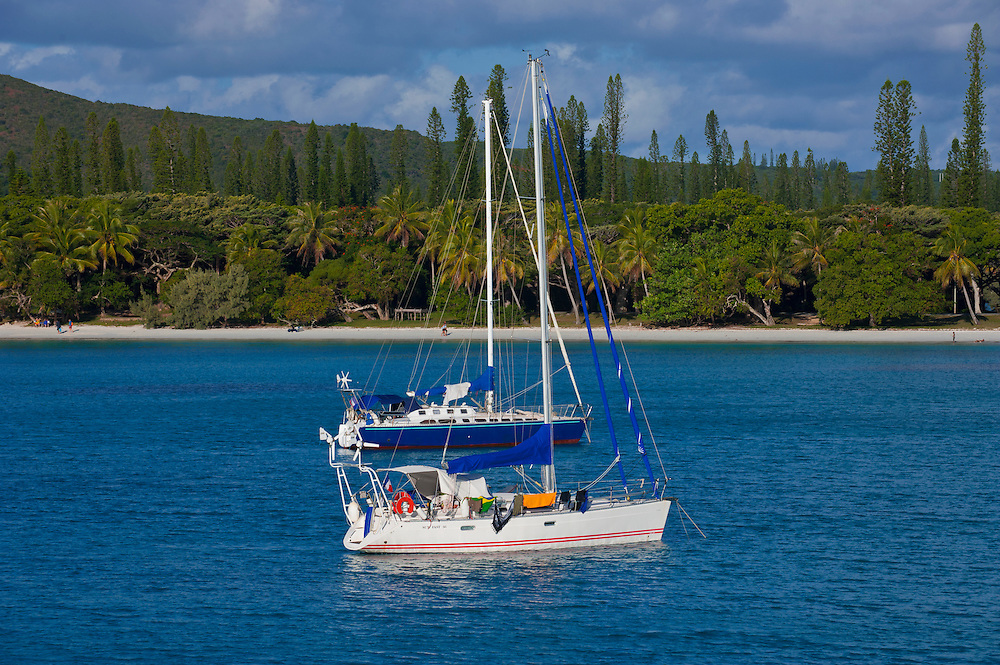 The bay de Kuto, Ile des Pins, New Caledonia, Melanesia, South Pacific