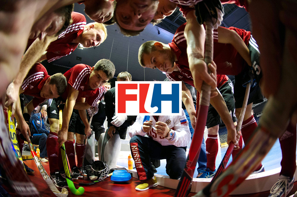 BERLIN - Indoor Hockey World Cup<br /> Men: Iran - Russia<br /> foto: VOLKOV Dmitry.<br /> WORLDSPORTPICS COPYRIGHT FRANK UIJLENBROEK