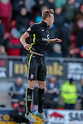York City defender William Boyle  during the Sky Bet League 2 match between Leyton Orient and York City at the Matchroom Stadium, London, England on 21 November 2015. Photo by Simon Davies.