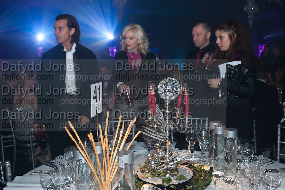 GWEN STEFFANI; GAVIN ROSSDALE; JOHNNIE SHAND KYDD, A Winter in New York. The Berkeley Square Ball. Portman sq. London. 3 December 2009